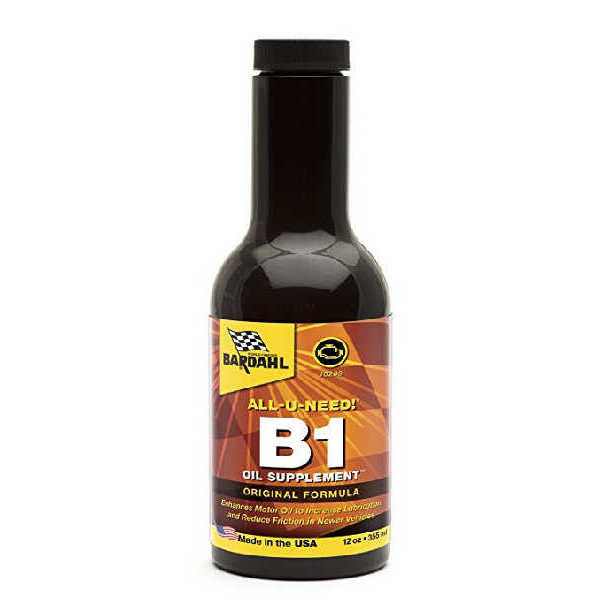 B1 OIL SUPPLEMENT