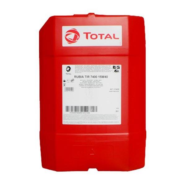 TOTAL-RUBIA TIR 7400 15W40(20L)