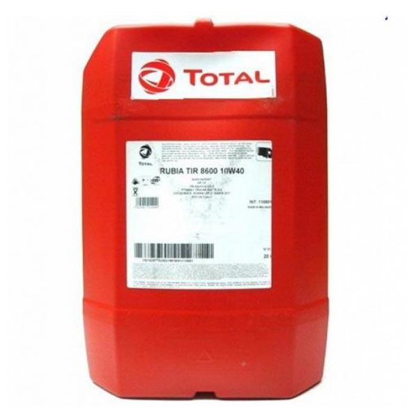 TOTAL-RUBIA TIR 8600 10W40(20L)