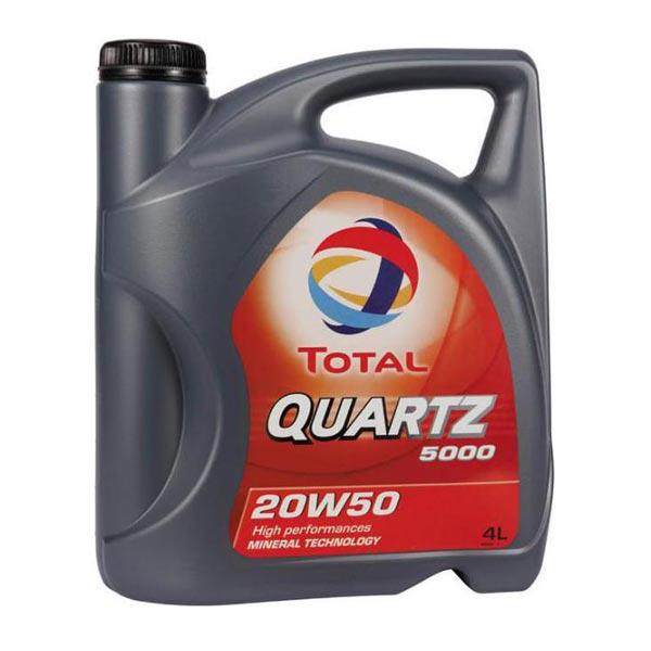 TOTAL-QUARTZ 5000 20W50