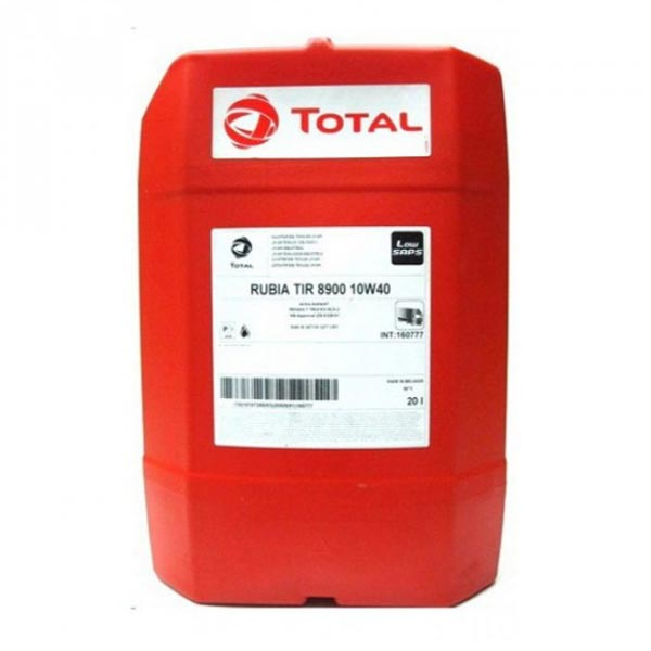 TOTAL-RUBIA TIR 8900 10W40(20L) LOW SAPS