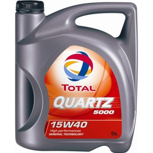 TOTAL-QUARTZ 5000 15W40