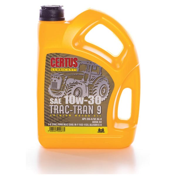 CERTUS TRAC-TRAN 9 SAE 10W-30