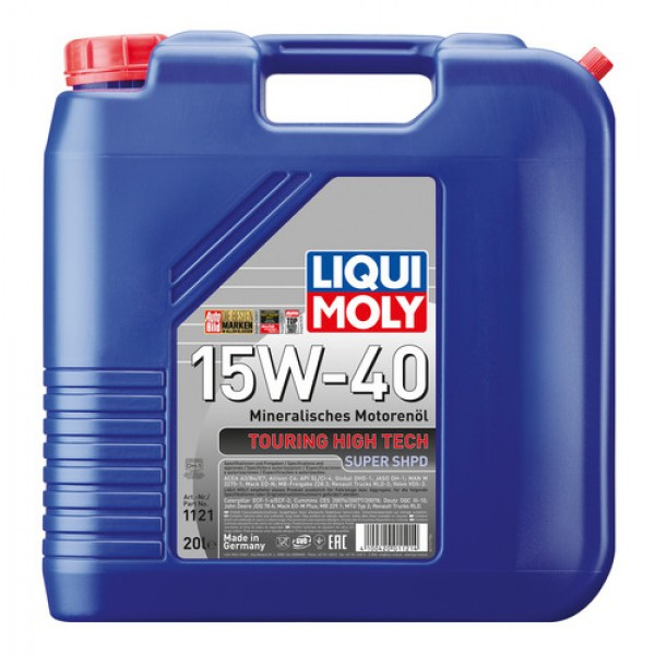 LIQUI MOLY TOURING HIGH-TECH 15W40-20W50 (20L)